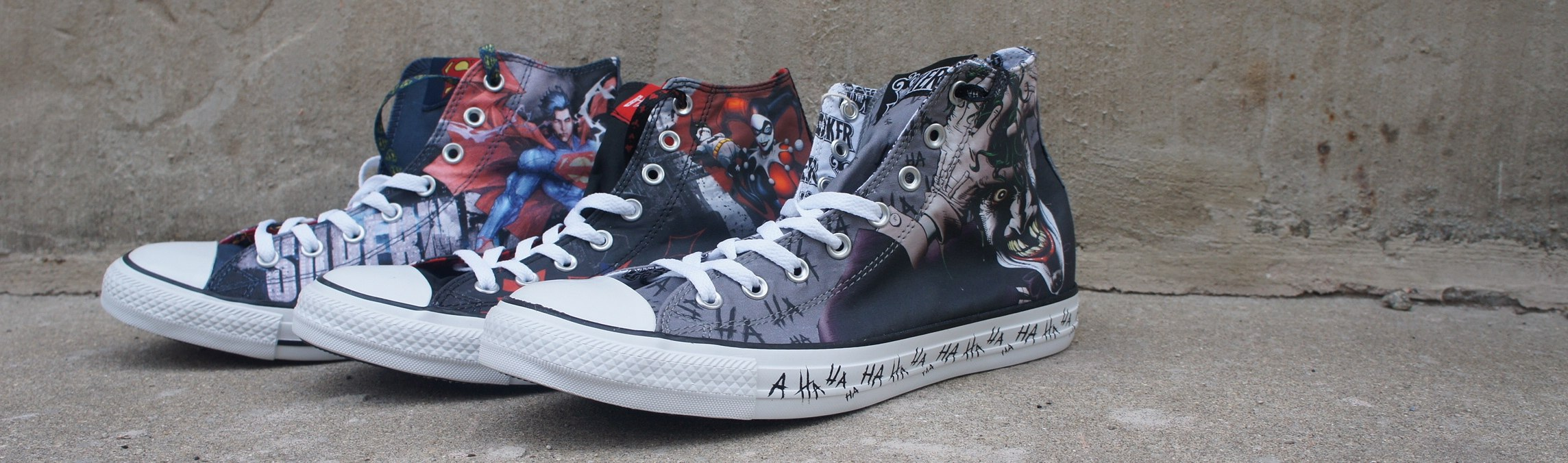 Converse DC Comics Shoes Collection Latest Releases