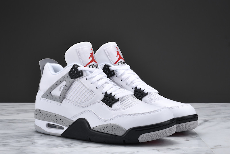 sports shoes 8c010 5279b new zealand air jordan 4 og 89 white cement f3ead 86c44