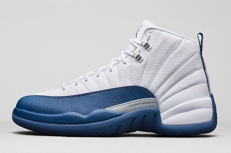 """Nike Air Jordan 12 Retro XII /""""French Blue/"""" 130690-113 DS 2016 Release"""