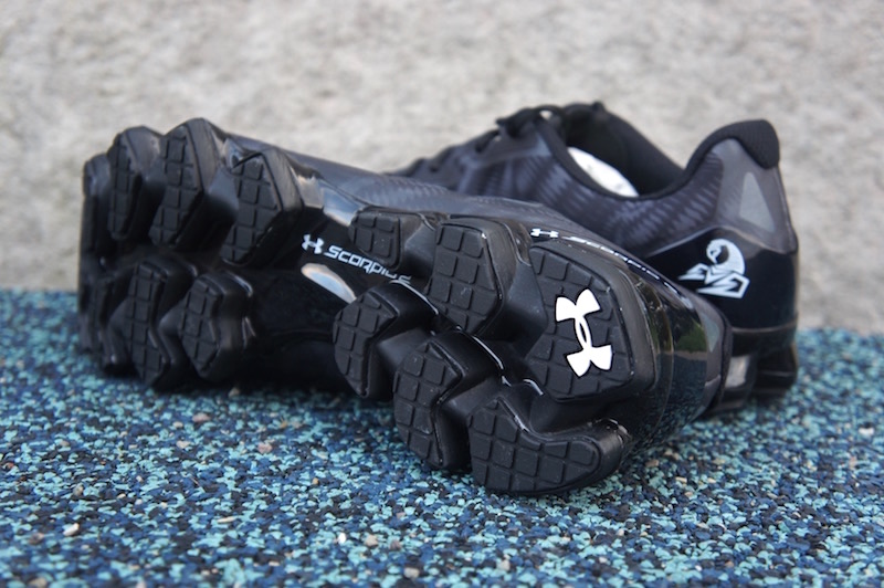 Under Armour Scorpio 2 Black Grey Sale sole