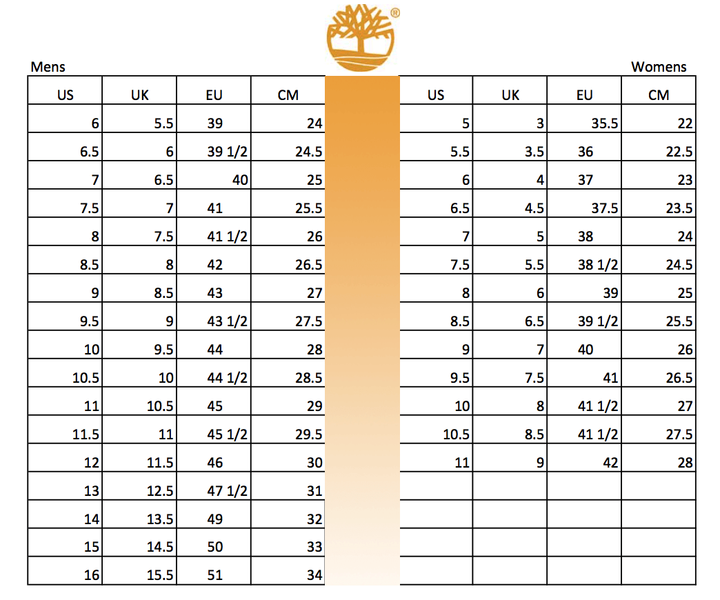 timberland-shoes-size-conversion-chart