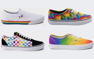 Vans Rainbow Shoes