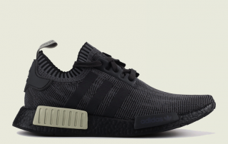 df7172777a3b3 Now Available – adidas NMD R1 Primeknit Black Utility