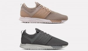 New Balance 247 Knit Taupe Gray On Sale