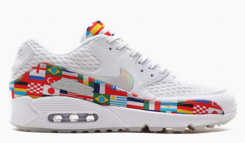 Nike International Flag World Cup 2018 Pack air max 90
