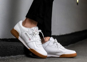 Reebok Workout Plus White Gum Sale $69.99