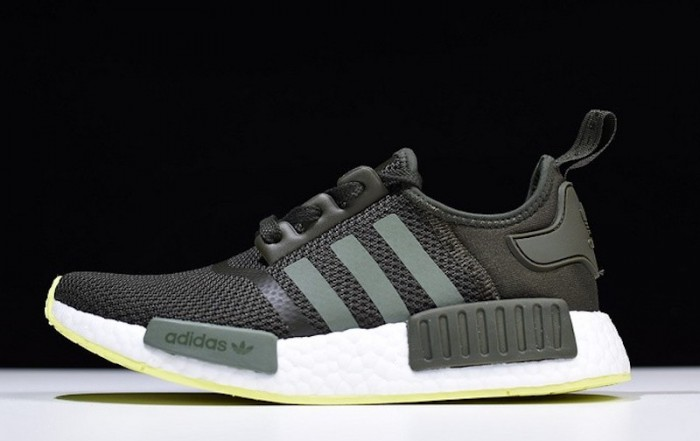 adidas NMD R1 Night Cargo Green Sale $69.99