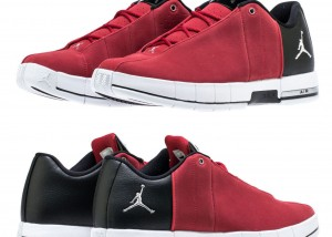 New AIR JORDAN Team Elite 2 Low Sneaker Mens red black all sizes