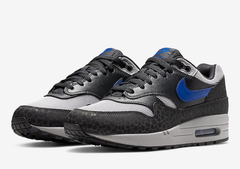 Nike Air Max 1 Reflective Safari Gray Blue Sale