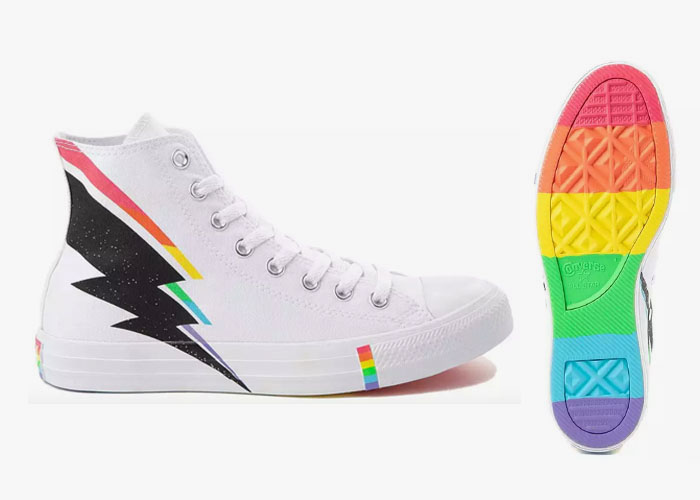 Converse Pride Lightning Bolt Hi Top 2019