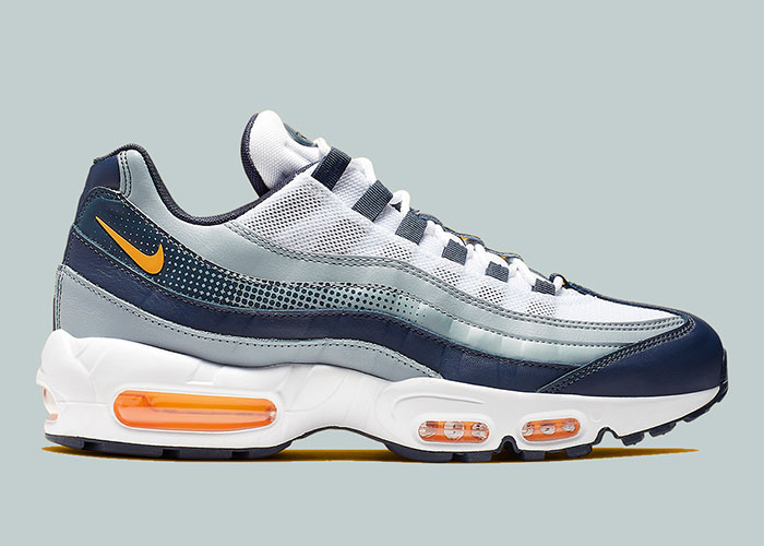 Nike Air Max 95 Midnight Navy Orange AJ2018-401