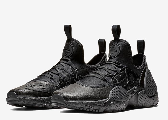 Nike Huarache Edge leather black saleAV3598 002 .