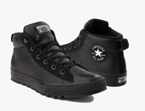 Converse Chuck Taylor Street Leather Black
