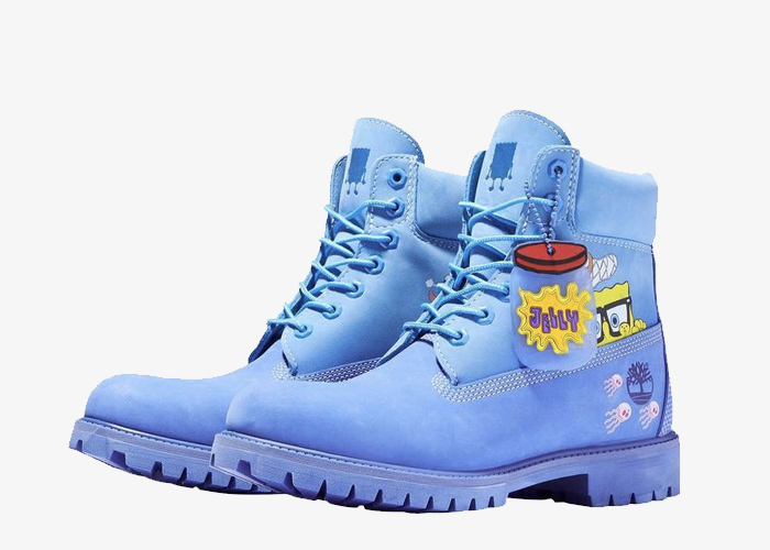 Timberland Spongebob blue yellow