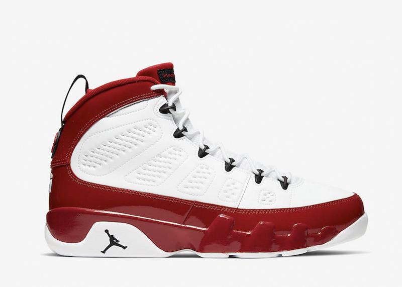 Air Jordan 9 Chicago Bulls gym red