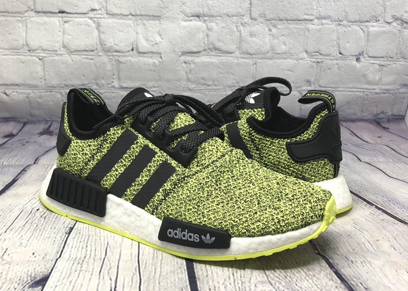 adidas NMD R1 EE4400 black yellow white 5