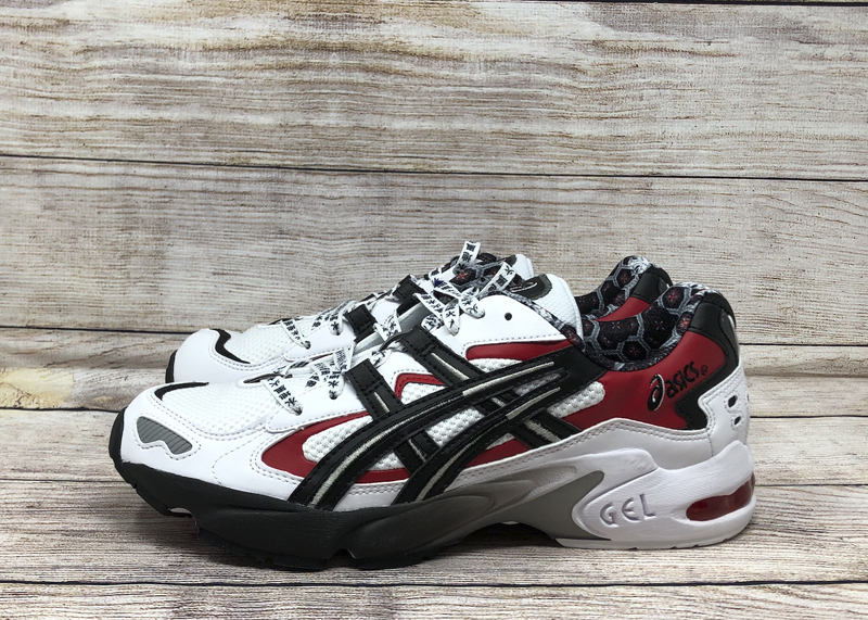 ASICS GEL-Kayano 5 OG 1021A182-100 White Black Red 1