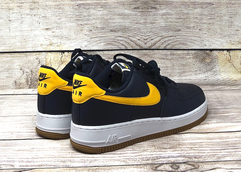 Nike Air Force 1 07 obsidian university gold white CI0057 400 4
