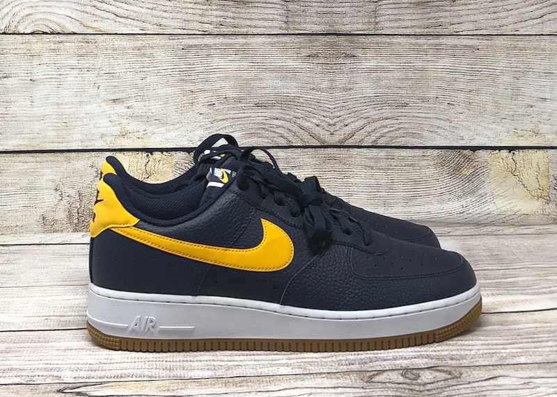Nike Air Force 1 07 obsidian university gold white CI0057 400 5