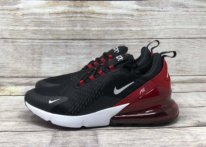 Nike Air Max 270 AH8050-022 Black University Red white 5