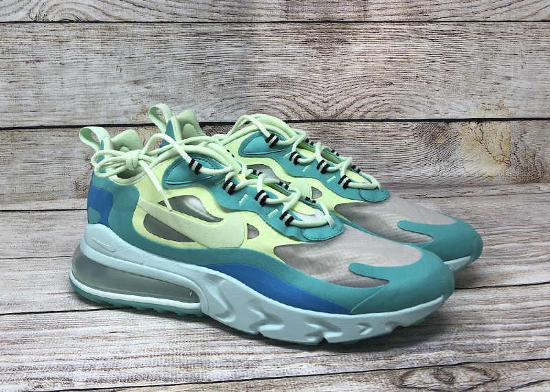 Nike Air Max 270 React Hyper Jade Frosted Spruce Barely Volt AO4971 3011