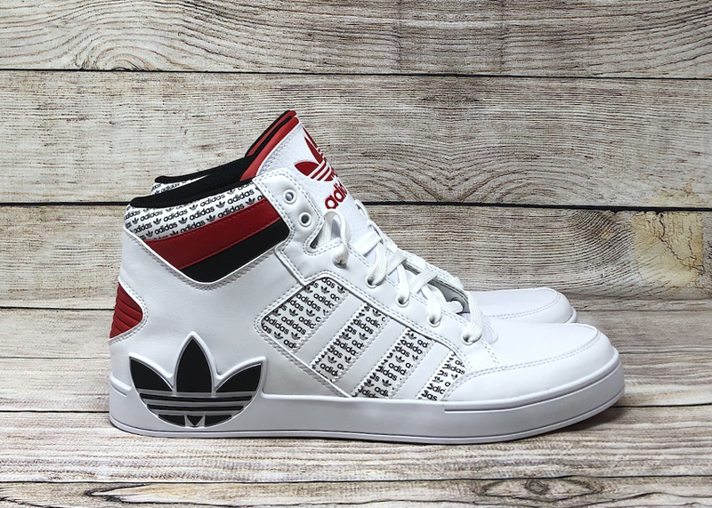 adidas Hardcourt FV6976 white black red 1