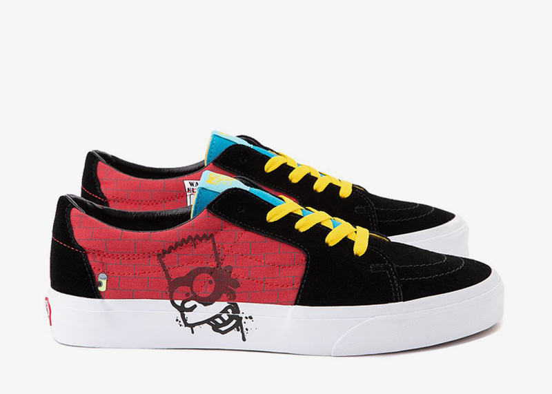 Bart Simpsons SK8 Low Shoe Vans