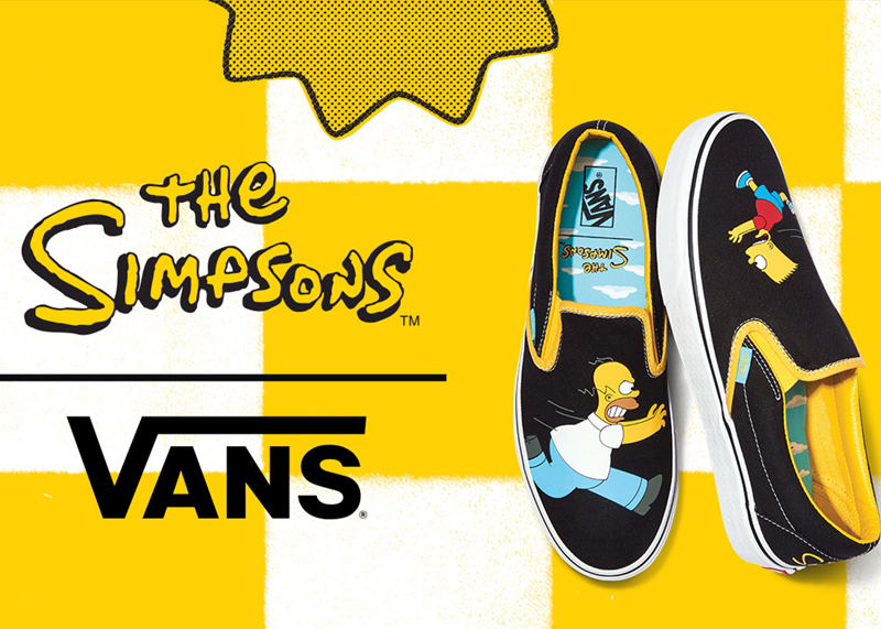 Vans x The Simpsons Shoes Collection